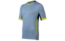 Odlo Men T-shirt s/s crew neck RAPTOR blue shadow-sulphur spring